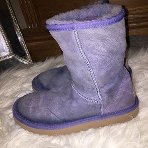 Purple UGG Size 8